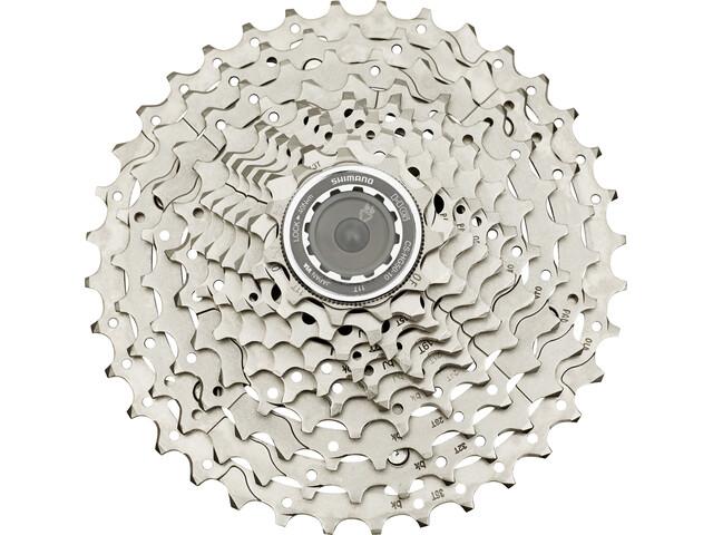 Shimano Deore CS-HG50 Kassett 10-växlad silver